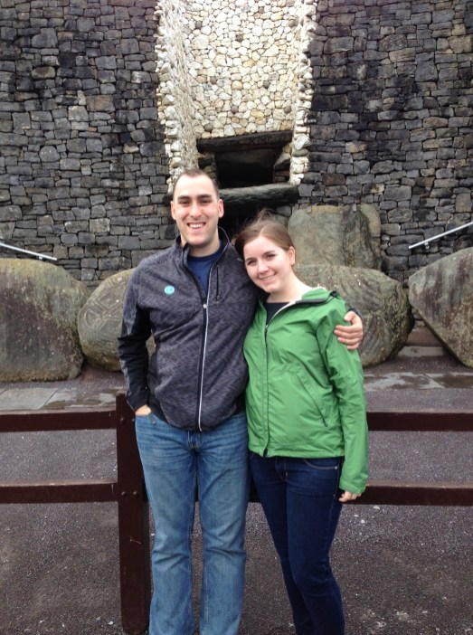 Outside of Newgrange