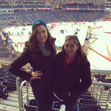 At the Winter Classic!