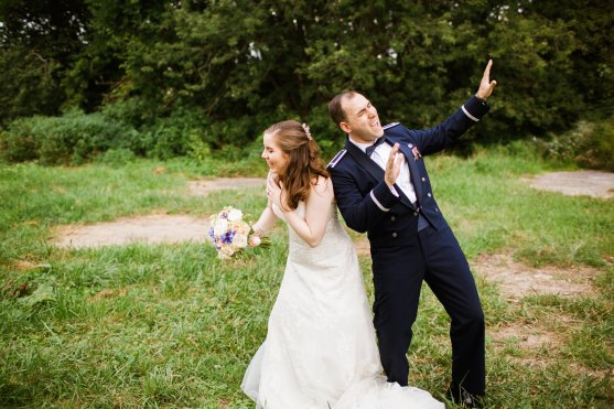 Post-wedding dance party