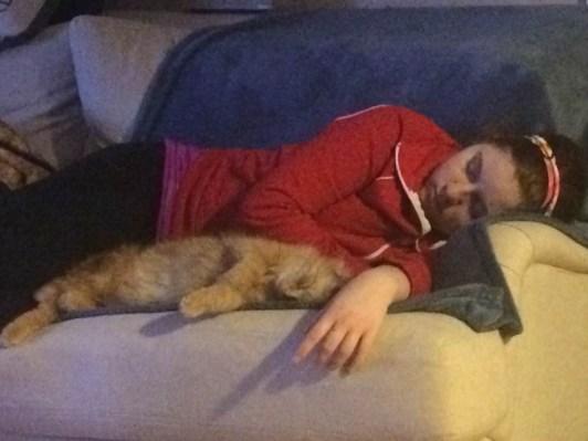 Cuddles!!