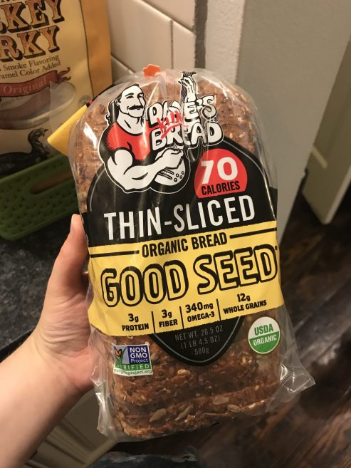 This brand of thin sliced bread is fantastic!