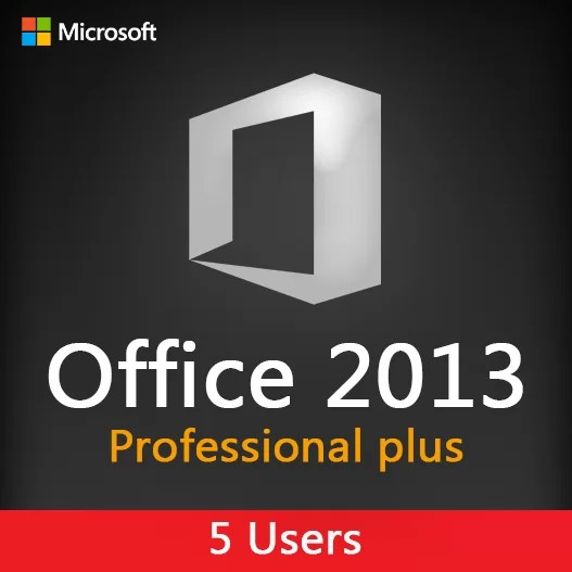 MICROSOFT OFFICE 2013 Pro plus 5 Users