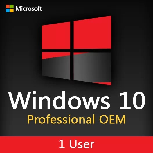 Microsoft Windows 10 Pro OEM