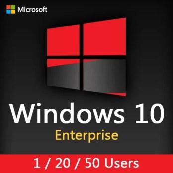 Windows 10 Enterprise (1-20-50 users)