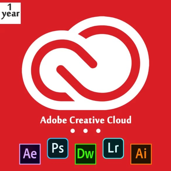 Adobe Creative Cloud Subscription 12 Months
