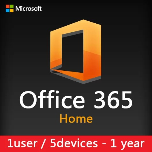 Office 365 Home (5 devices) 1 year