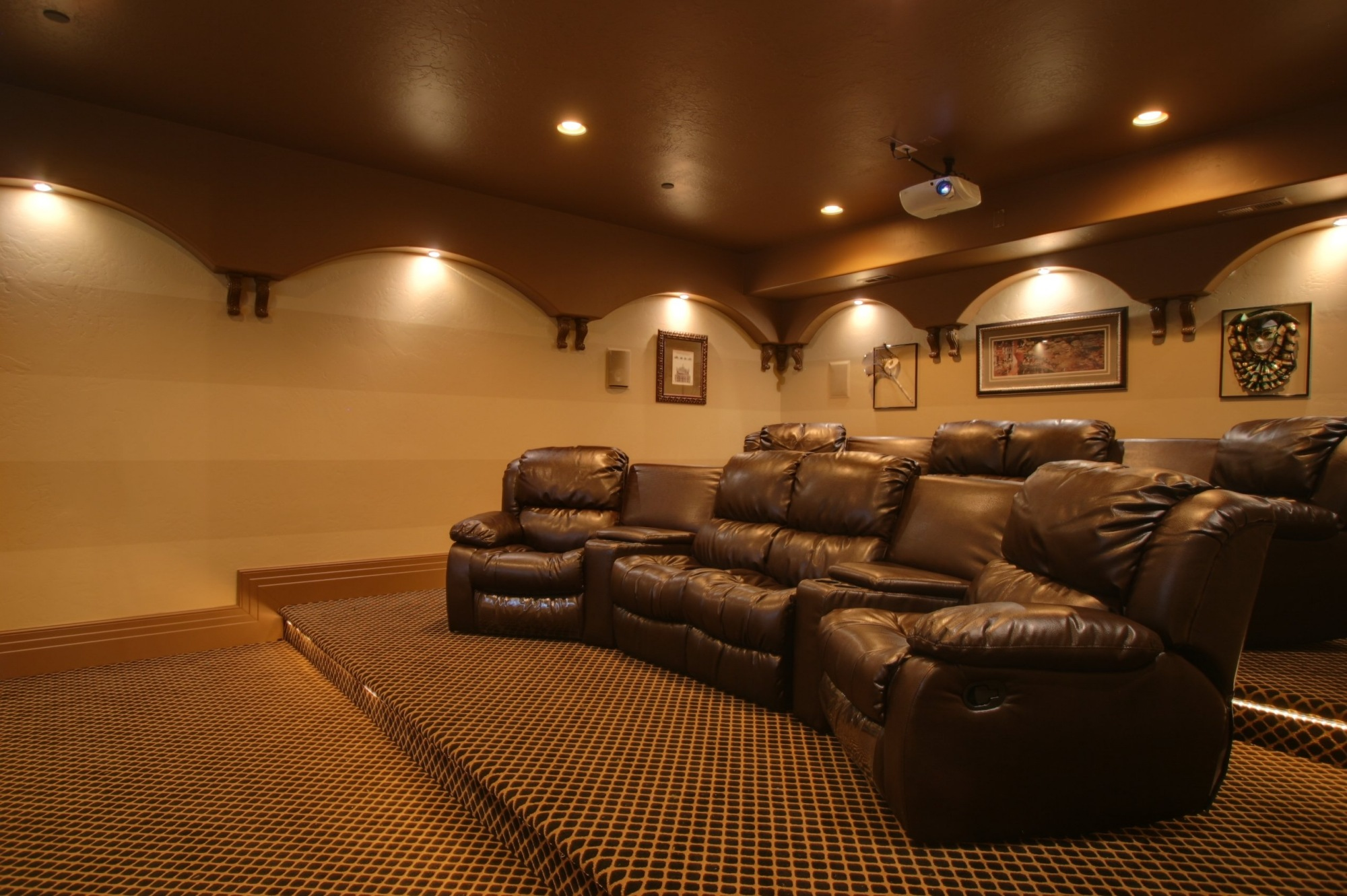 Movie Chairs For Home Theaters In Home Theater Seating Home Theater Seating With