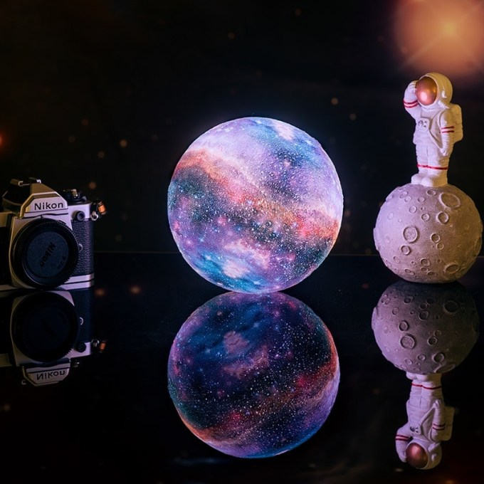 Multicolor Galaxy Lamp