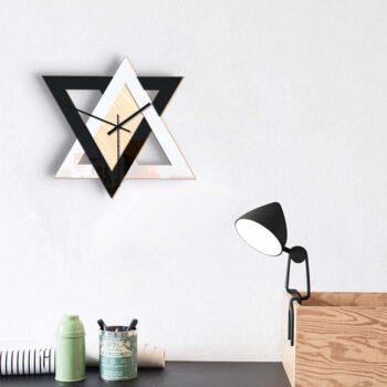 Nordic Style Geometric Wall Clock