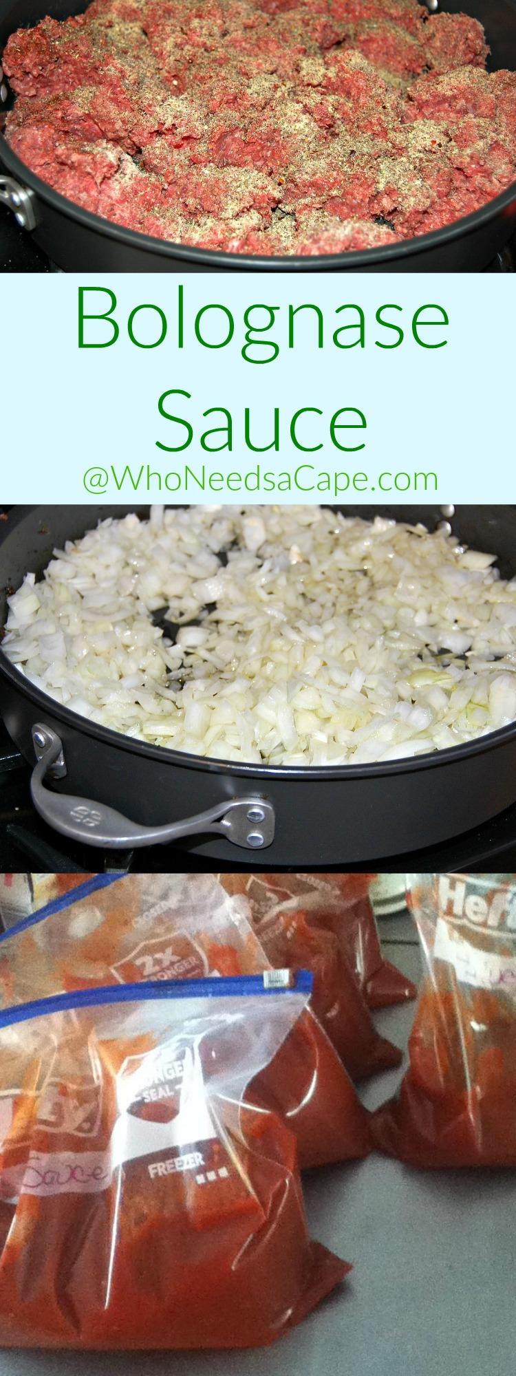 Bolognase Sauce is actually simple to make - this recipe is so authentic and amazing tasting. Freezes beautifully and you'll LOVE IT!
