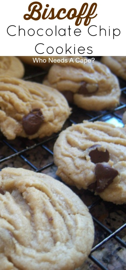 Biscoff Chocolate Chip Cookies are the perfect blend of cookie butter and traditional chocolate chip cookie flavors. Get your milk ready, these are great.