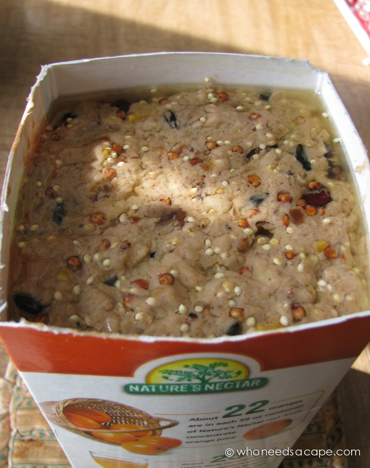 Feed your fine feathered friends with an easy to make Homemade Wild Bird Suet. Easy to make, you may never buy from the store again.