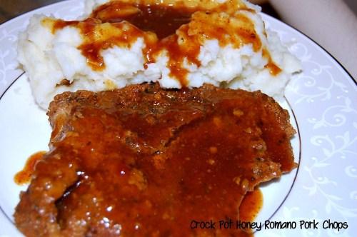 Crock-Pot Honey Romano Pork Chops