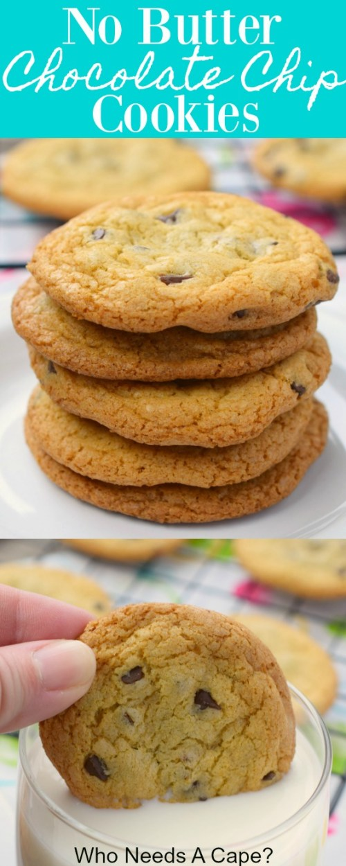 Baked cookies stacked on plate