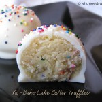 Throw Back Thursday ~ No-Bake Cake Batter Truffles