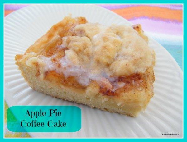 Apple Pie Coffee Cake   Who Needs A Cape?