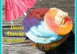 Beary Beachy Cupcakes