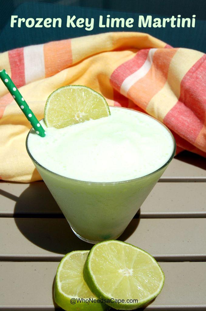 Frozen Key Lime Martini