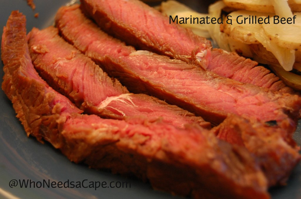 Grilling season is the perfect time to try Marinated & Grilled Beef. Great all season long, pair with baked potatoes for a delicious meal.