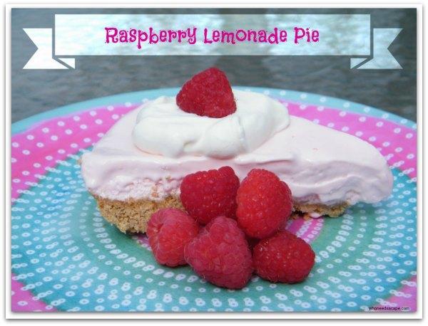 RaspberryLemonadePie