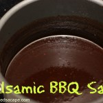 Balsamic BBQ Sauce (Paleo!)
