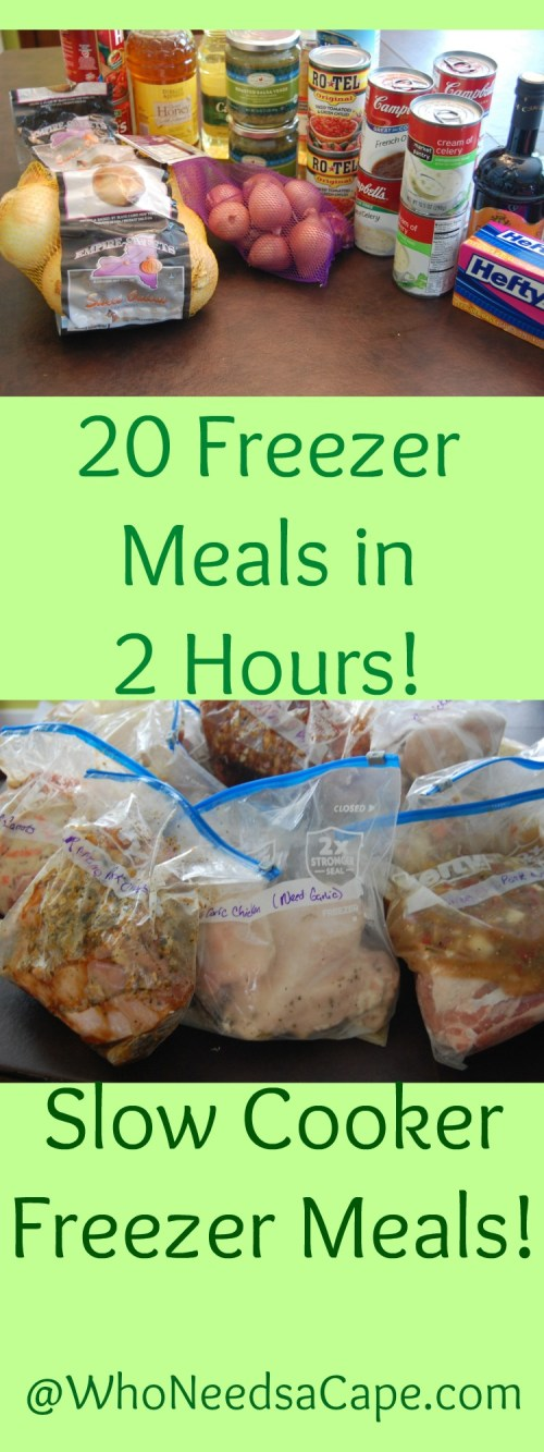 20 Freezer Meals in 2 Hours is a LIFESAVER Fill your freezer and have dinner ready every night!