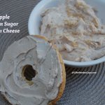 Apple Brown Sugar Cream Cheese
