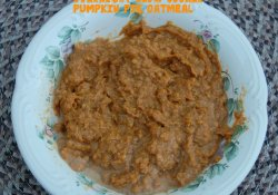 Overnight Slow Cooker Pumpkin Pie Oatmeal