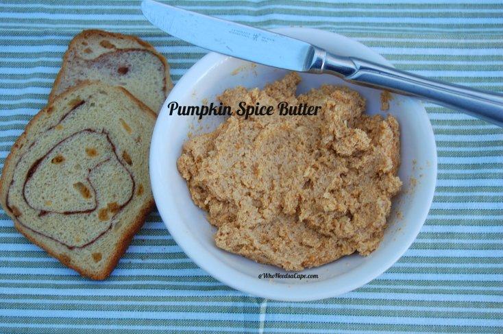 Pumpkin Spiced Butter