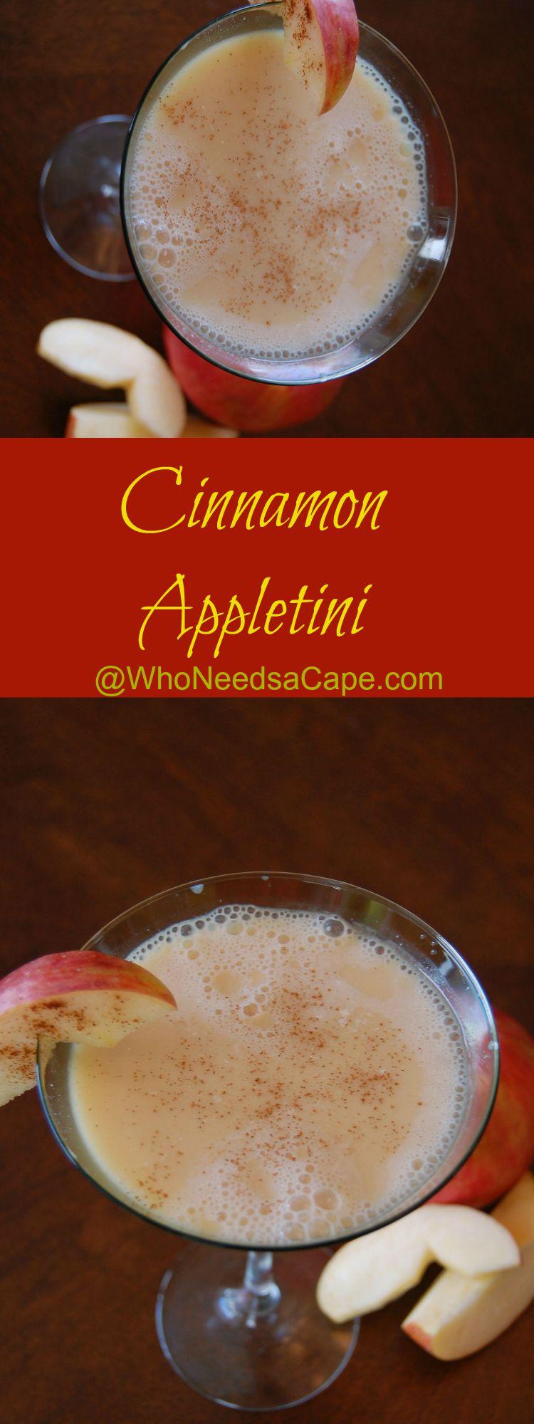 Cinnamon Appletini 1