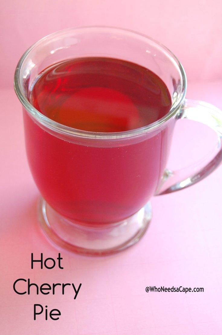 Hot Cherry Pie Cocktail