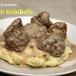 {copycat} IKEA's Swedish Meatballs