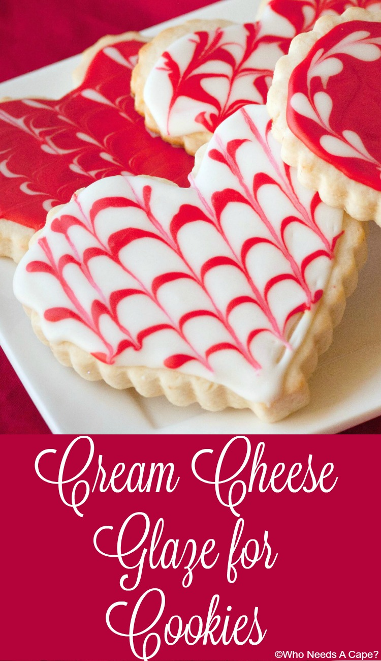 Cream Cheese Glaze for Cookies
