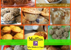 Who Needs A Cape? Muffin Recipe Collection