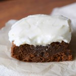 Cream Cheese Frosted Baileys Brownies