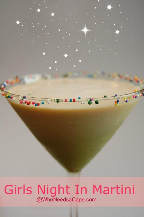 Girls Night In Martini