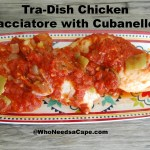 Tra-Dish Chicken Cacciatore with Cubanelles