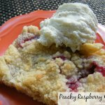 Peachy Raspberry Crisp
