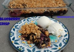 Throw Back Thursday ~ Blueberry Crisp