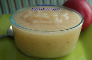 Apple Onion Soup