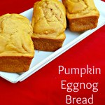 Pumpkin Eggnog Bread with Bob's Red Mill Flour