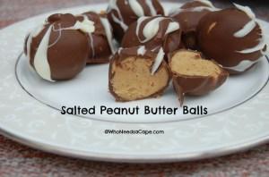 Salted Peanut Butter Balls1