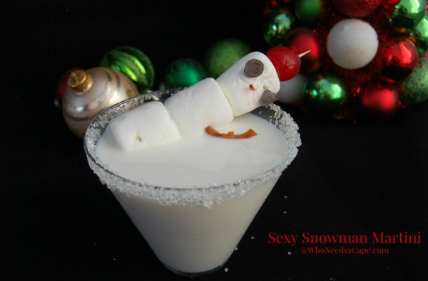 Sexy Snowman Martini