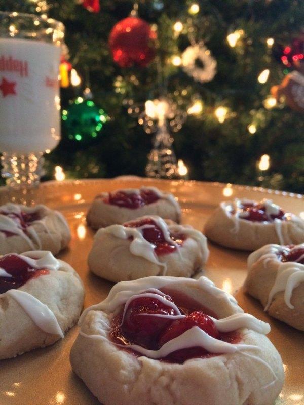 Cherry Pie Thumbprint Cookies | Who Needs A Cape?