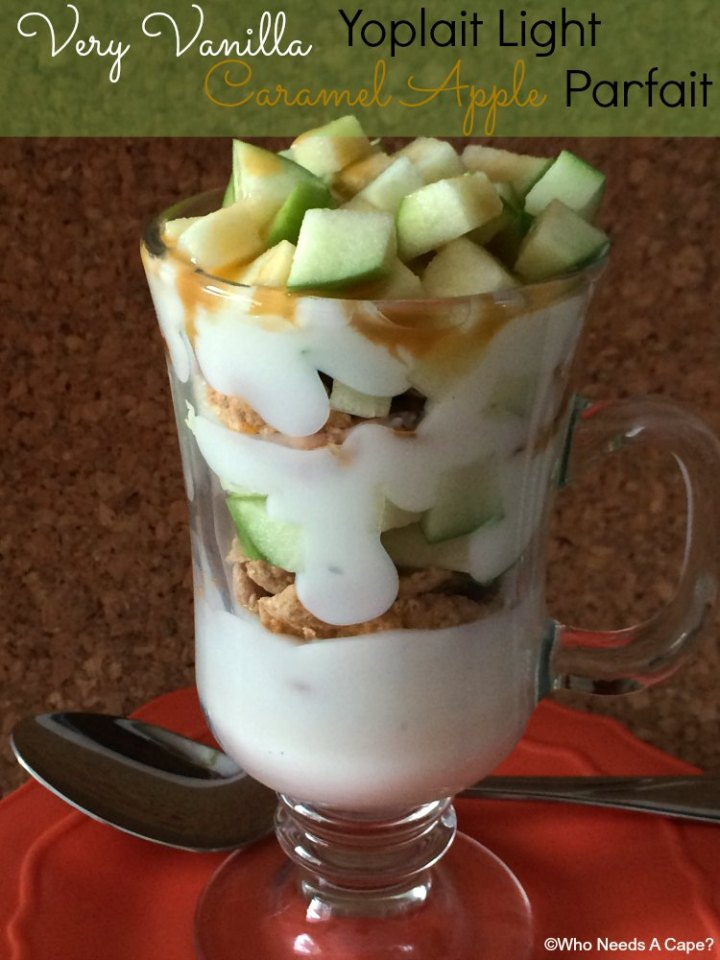 Whether for breakfast, snack or dessert you'll love the flavors of this Caramel Apple Yogurt Parfait. Easy to make, kids love them too!