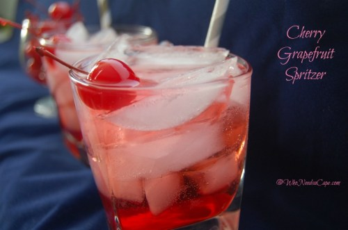 Cherry Grapefruit Spritzer