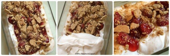 Cherry Cheesecake Ice Cream | Who Needs A Cape?
