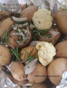 Roasted New Potatoes on the Grill