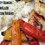 Zesty Ranch Grilled Chicken Thighs