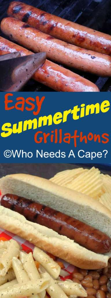 Easy Summertime Grillathons | Who Needs A Cape?